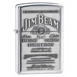 Zippo Jim Beam Pewter Emblem.