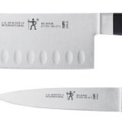 J.A. Henckels International Classic Forged Hollow-Edge Stainless-Steel 2-Piece Knife Set