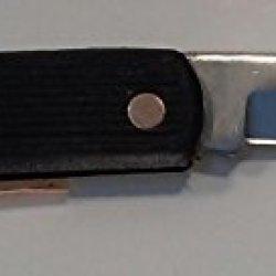 Black Handled Pocket Knife