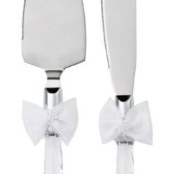 Wilton Graceful Wedding Day Collection Cake Knife And Server Set
