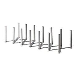 Ikea Variera Stainless Steel Pot Lid Organizer