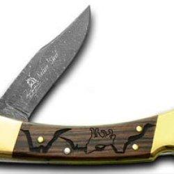 Buck 110 Wolf Valley 1/400 David Yellowhorse Pocket Knife Knives