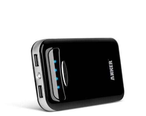 Anker Astro E5 15000mAhモバイルバッテリー 黒 iPhone5S、5C、5、4S/iPad Air/iPad Mini Retina/iPad Mini/iPad/iPod/Galaxy/Xperia/ASUS/Android/各種スマホ等対応 デュアルポート