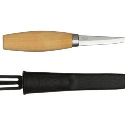 Morakniv Wood Carving 106 Knife With Laminated Steel Blade, 3.2-Inch