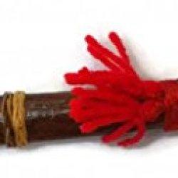 Lek Num Phi 3.5-Inch Blade Iron Amulet Knife