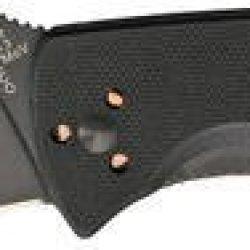 Spyderco Knives 122Gbbkp Tenacious Linerlock Knife With Black G-10 Laminate Handles