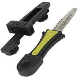 Wenoka Squeeze Lock Knife, Blunt - Yellow