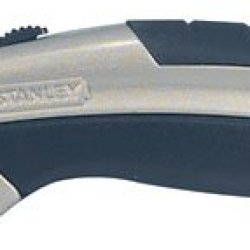 Stanley Quick Blade Change Utility Knife Integrated String Cutting Feature Large Hang Hole