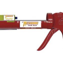 Newborn 102D Drip-Free Smooth Hex Rod Cradle Caulking Gun, 1/10 Gallon Cartridge, 10:1 Thrust Ratio