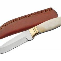 Szco Supplies Bone Handle Sleek Skinning Knife