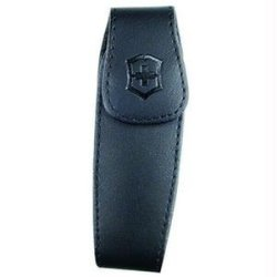 Victorinox Medium Black Leather Knife Clip Pouch
