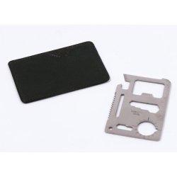 Kobwa(Tm) Emergency Hunting Classic Steel Pocket Credit Card Knife Survival Tool With Keyring