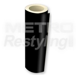 "Metro Matte Black High Performance Vinyl Wrap Film 48""X12"""