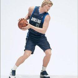 Dirk Nowitzki - Mcfarlane Mini Action Figure - Blue Mavericks Jersey
