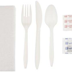 """Wna 611977 6-Piece Cutlery Kit, 17"""" X 12"""" 1-Ply Napkin (Case Of 250)"""