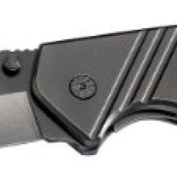 Magnum 01Sc017 Folding Bowie Knife, Black