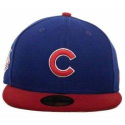 Chicago Cubs Mlb Authentic Baseball Cap 7-3/8 Osfa - Like New