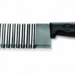 Fruit Knife, Jelly Knife The Handle Is Made Of Durable Black Plastic