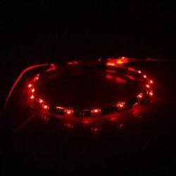 Ggb- 0.6M 2W 30-Led 140Lm Red Light Led Strip Light (Dc 12V)