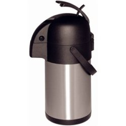 Lever Action Airpot 2.5 Litre Capacity. Stainless Steel Double Wall. .