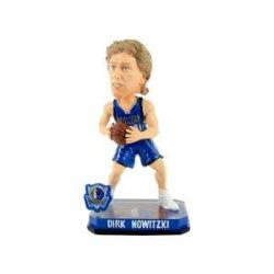 Dirk Nowitzki Dallas Mavericks Forever Collectibles 2014 Nba Springy Logo Base Bobblehead