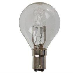 Eveready Lighting G45 Golf Eco Halogen Bulb 28 Watt (40 Watt) Sbc Small Bayonet Cap Card Of 2 Eves4881