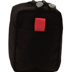 Uncle Mike'S Red Tab, Molle Compatable Personal Medical Pouch, Black
