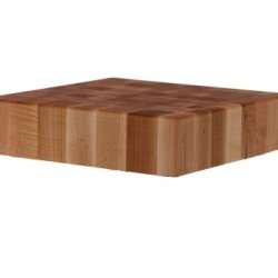 John Boos 18-Inch Square Maple  Chopping Block