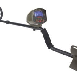Gamo Outdoors Raider Digital Lcd Metal Detector With Scoop And Carrying Case