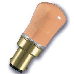 Eveready 2 X 15W Pygmy Sbc (Small Bayonet Cap) Amber Light Bulb - Pack Of 2 - [Eu Specification: 220-240V]