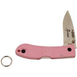 Ka-Bar Dozier Mini Folder Knife, Pink