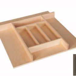 "Century Components Ttkf20Pf Wood Silverware Tray Drawer Organizer, 20"" X 22"" Trimmable"