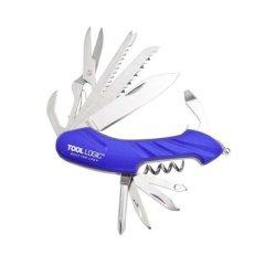 Tool Logic Mt-02 Outdoor Companion Multi-Tool Pack, Blue