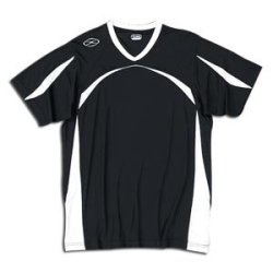 Xara Trafford Soccer Jersey (Blk/Wht)