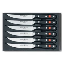 Wusthof Trident Classic 6 Piece Steak Knife Set