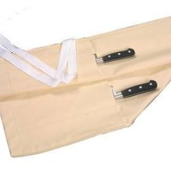 Stylish Cream Canvas Knife Wallet Holds Up To 11 Knives