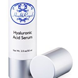 Hyaluronic Acid Serum Cream, Youthful, Elastic Skin Again, Eye Bags, Wrinkles, Crows Feet, Dark Circles, Dry Skin, Age Spots- All Reduced, Filled With Vitamin A, C, D, And E-Best Pure Premium Salon-Grade Anti-Aging, Anti-Wrinkle Liquid Complex. Superb Ric