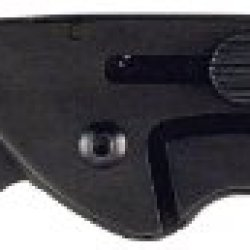 Ruko G10 3-Inch Blade Folding Knife With Plain Edge Shark Lever Action Handle