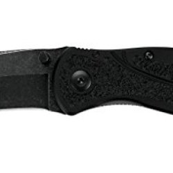 Kershaw 1670Bw Blur Folding Knife With Blackwash Speedsafe