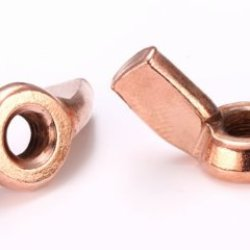 Copper Plated Wingnut (M4 Metric) Replacement Tattoo Machine Part