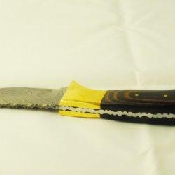 """33 Runner 7 """" Skinner Hunting Knife Damascus Knife Company"""