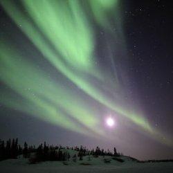 Aurora Borealis, Yellowknife, Northwest Territories, Canada Photographic Poster Print By Stocktrek Images, 18X24