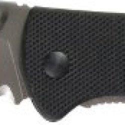 Crkt Drifter Knife Black G10 Handle Combo Edge