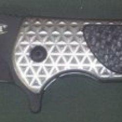Zt 0600Blk Rj Martin Flipper With Plain Black Blade, Limited Edition