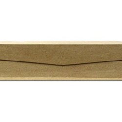 Paper Mache Keepsake Box Small Slim Rectangle By Craft Pedlars
