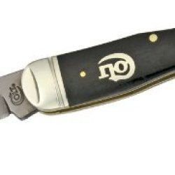 Colt Knives 317 Titanium Series Whittler Pocket Knife With Black Smooth Bone Handles