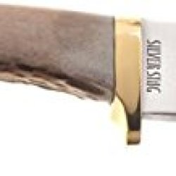 Silver Stag Sharp Forest Fixed Knife, 8 1/2In., D2 Tool Steel Skinner/Caping Blade, North Sf1010