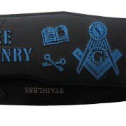 Masonic Rescue Folding Knife