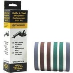 Replacement Belt Sharpening Kit Accessories 2Pk