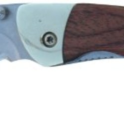 "Parker River ""Classic"" Linerlock Pocket Knife With Rosewood Sides."